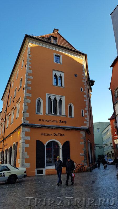 """Отель """"Арх"""", Хайдплац, Регенсбург"""