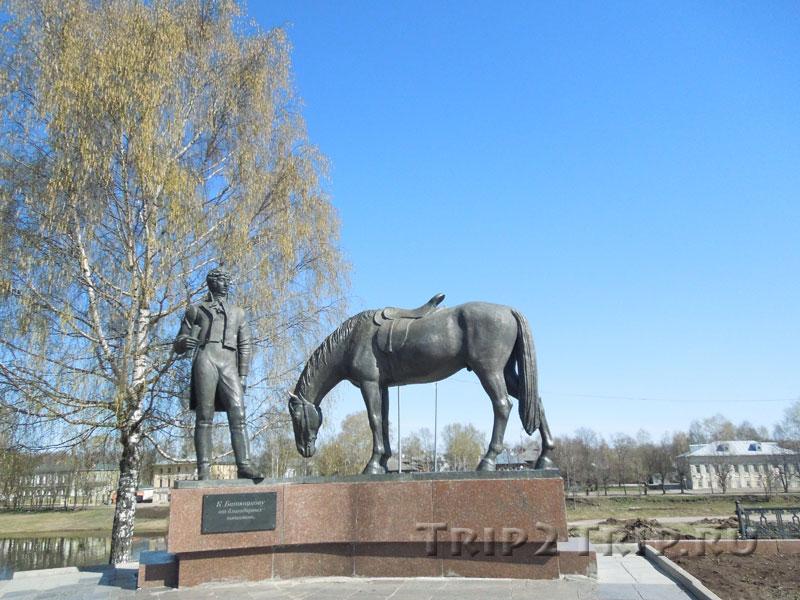 Памятник Батюшкову на Известной горе, Вологда