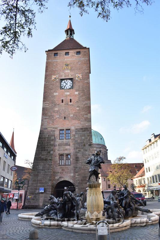Белая башня, Нюрнберг