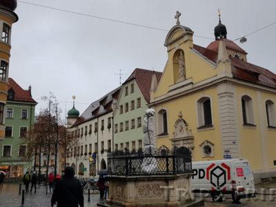 Церковь Святого Иоанна и Епископский дворец, Регенсбург