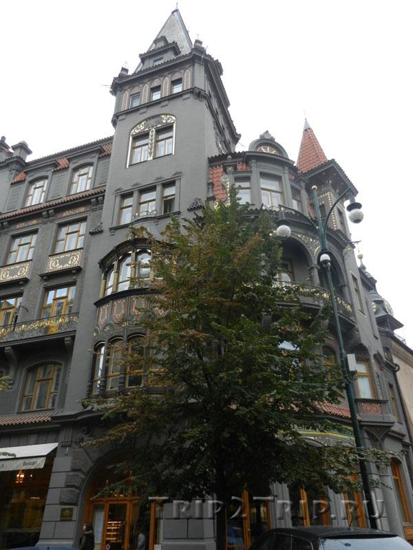 Доходный дом у Староновой синагоги, Йозефов, Прага