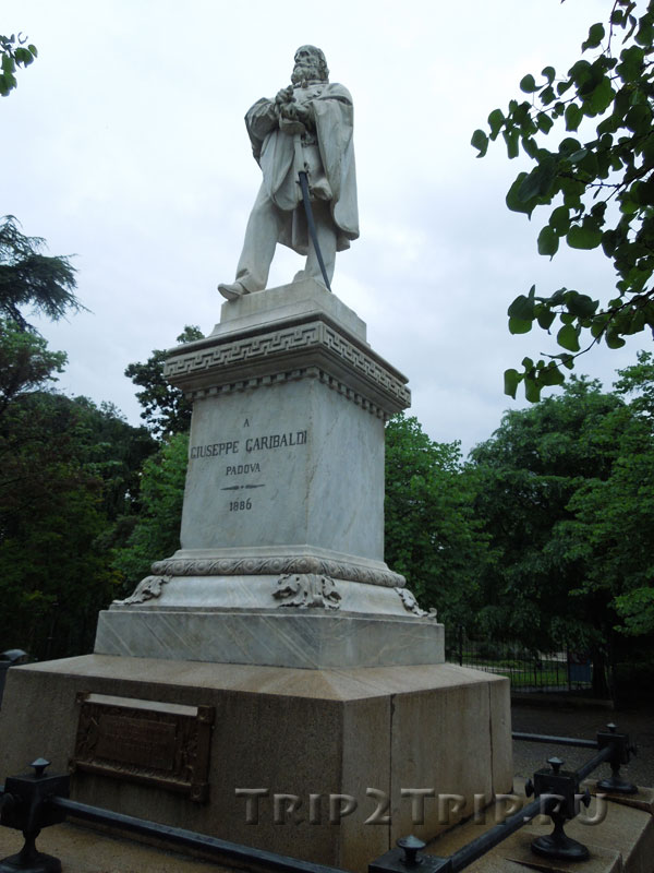 Статуя Гарибальди, Джардини делл'Арена, Падуя