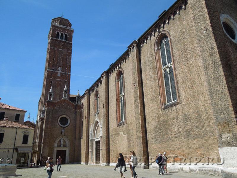 Кампанилла церкви Санта-Мария Глориоза деи Фрари, Венеция