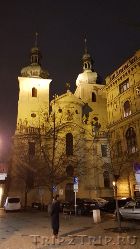 Костёл Святого Гавела, Гавельская площадь, Прага