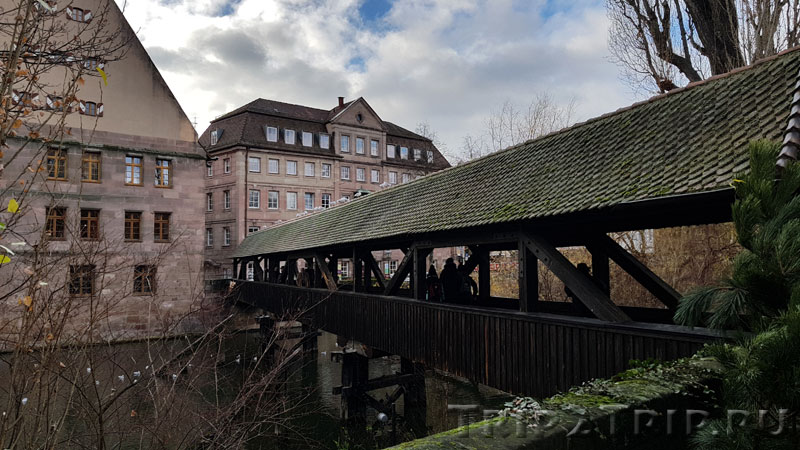 Мост Палача через Пегниц, Нюрнберг