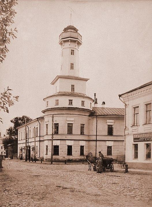 Первая каланча 1843 года, Рыбинск