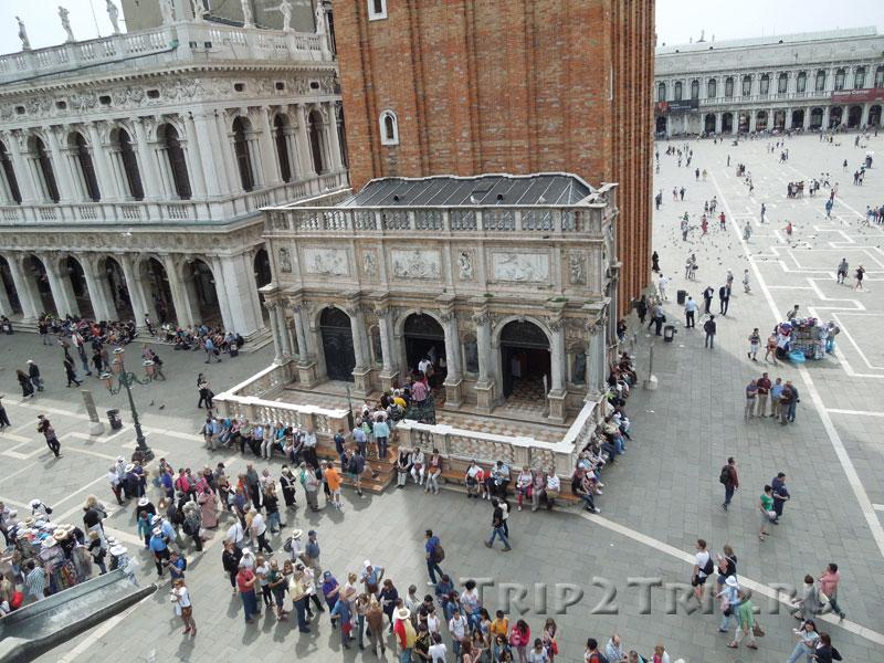 Лоджетта при кампанилле, Площадь Сан-Марко, Венеция