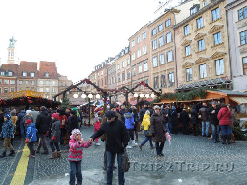Рыночная площадь, стороны Закшевского и Коллонтая, Старувка, Варшава
