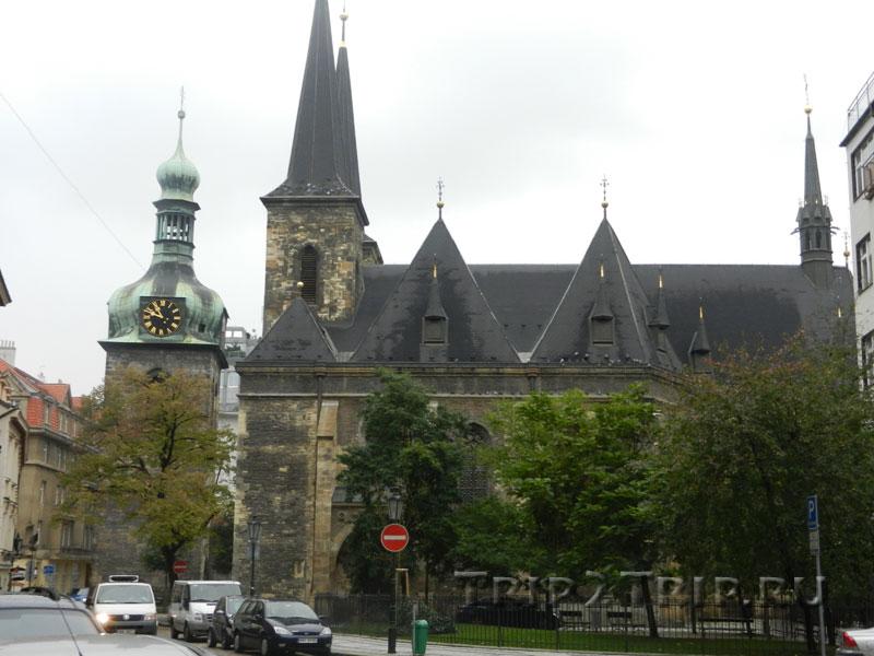 Костёл Святого Петра и Петровская башня, Прага