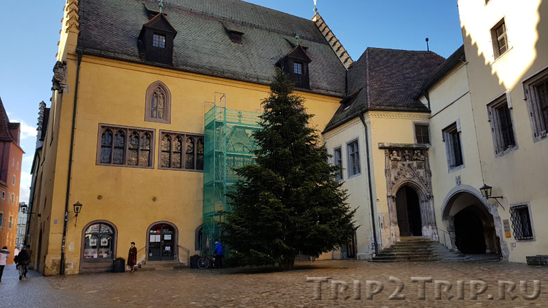 Старая ратуша в Регенсбурге