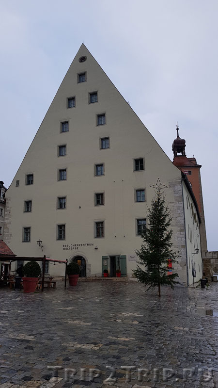 Соляной склад Salztadel в Регенсбурге