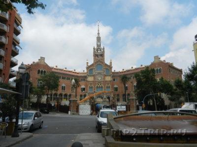 Госпиталь Сан-Пау, Барселона