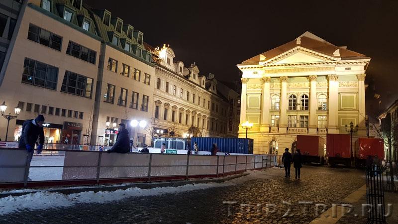 Сословный театр, Фруктовый рынок, Прага