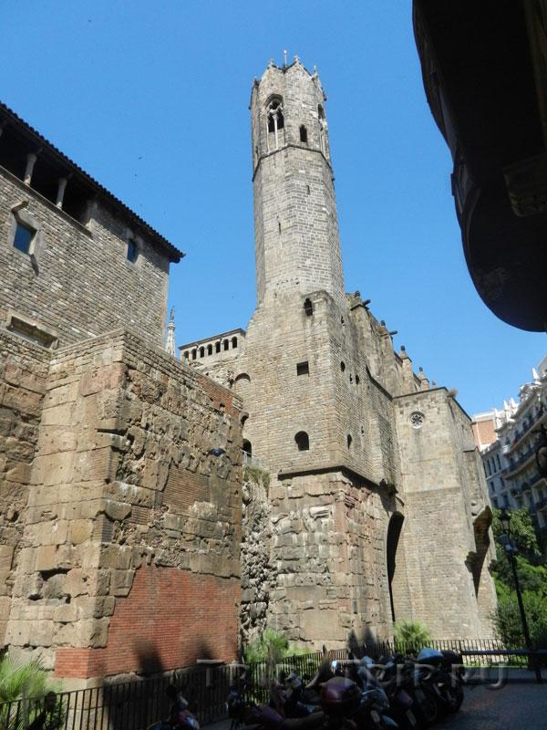 Башня короля Мартина, Королевский дворец, Барселона