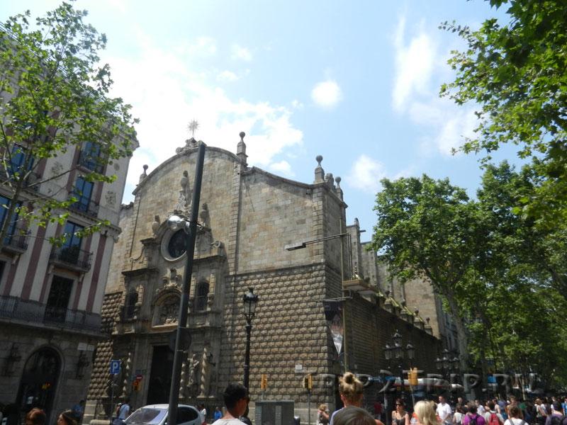 Церковь Вифлеемской Богоматери, Рамбла, Барселона