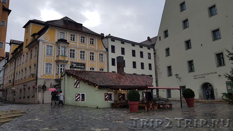 Историческая сосисочная в Регенсбурге