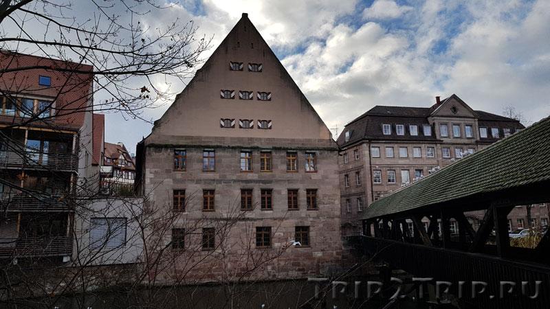 """""""Сальный дом"""", площадь Unschlittplatz, Нюрнберг"""
