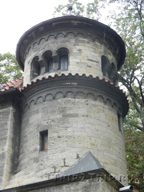 Башенка Обрядового дома, Йозефов, Прага