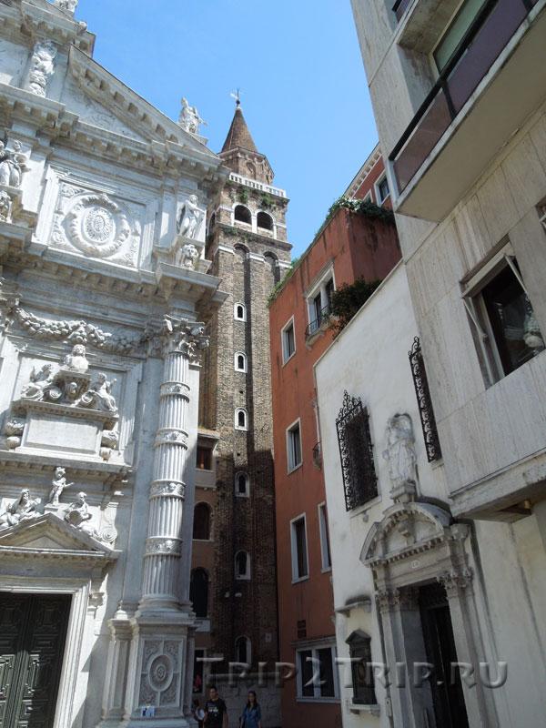 Кампанилла Сан-Моизе, Венеция