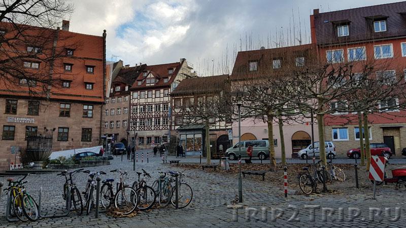 Площадь Unschlittplatz, Нюрнберг