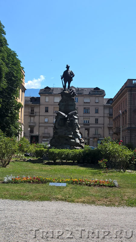 Памятник Виктору Иммануилу II, Аоста