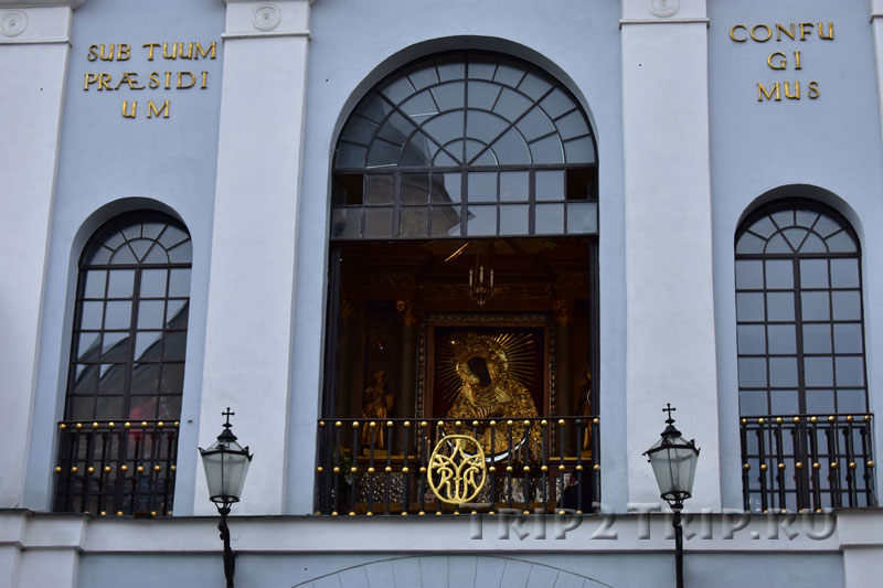 Икона Божьей Матери Остробрамской, Вильнюс