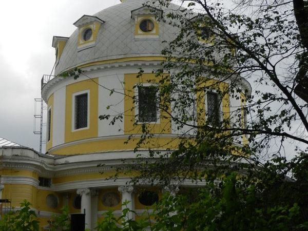 Купол храма Вознесения на Гороховом Поле, Москва