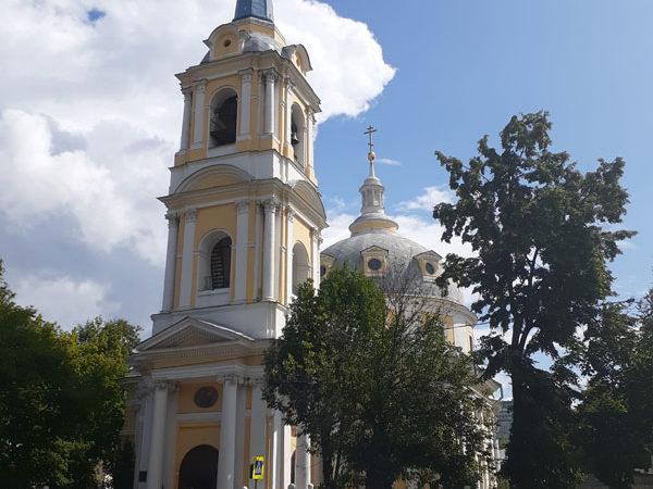 Шпиль храма Вознесения на Гороховом Поле, Москва