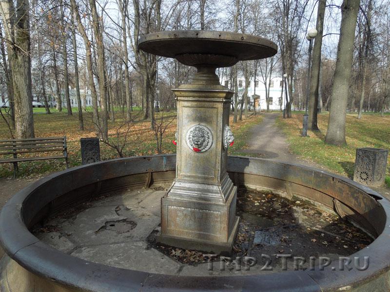 Львиный фонтан, Измайловский остров, Москва