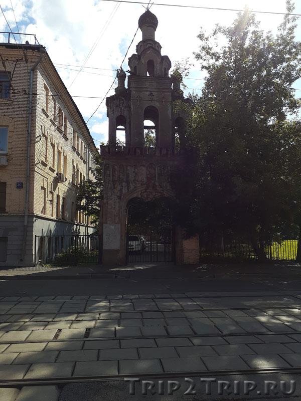 Колокольня церкви Великомученицы Ирины, Басманный, Москва