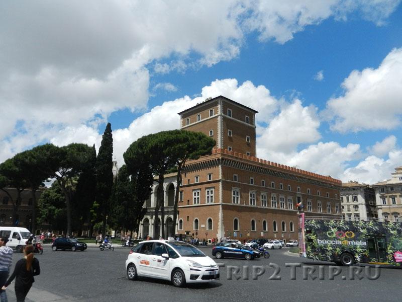 Палаццо Венеция, пьяцца Венеция, Рим