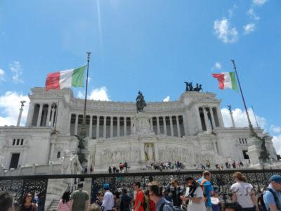 Монумент Виктору Эмануилу II, пьяцца Венеция, Рим