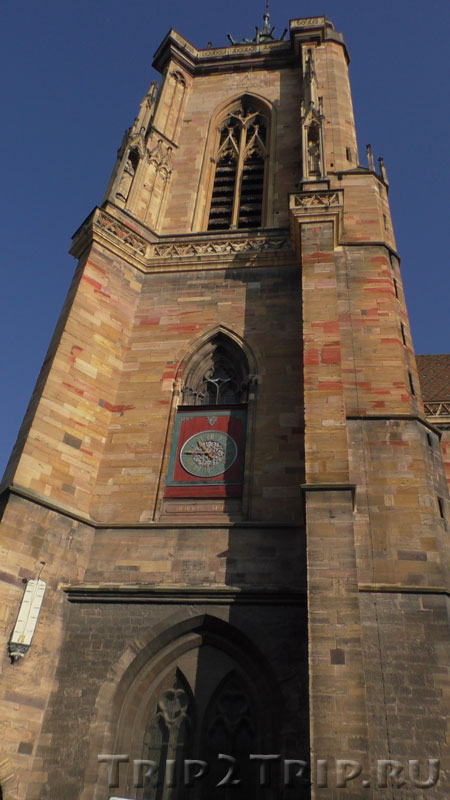 Башня собора Сен-Мартен, Кольмар