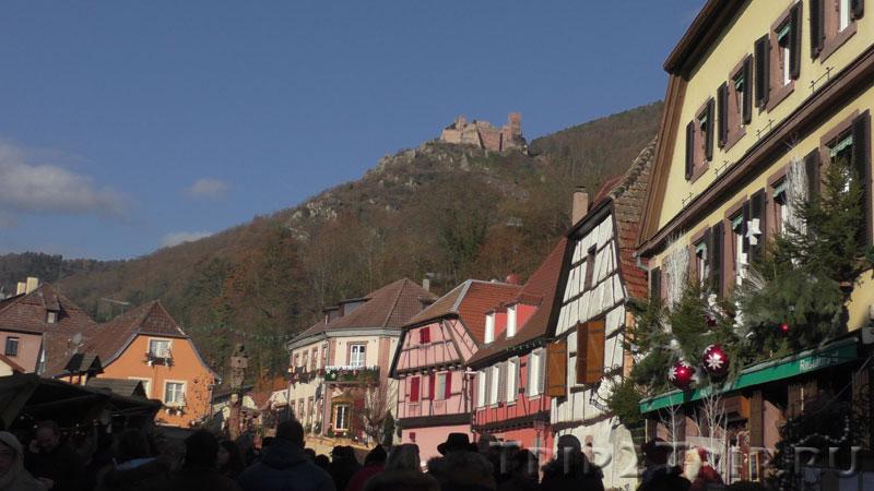 Замок Сен-Ульрих, Вогезы окрест Рибовилле, Эльзас