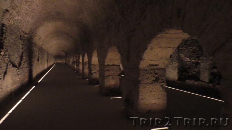 Римский криптопортик, Аоста