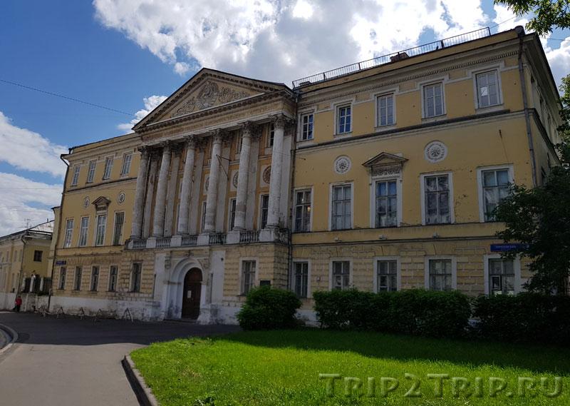 Демидовский дворец, Гороховский переулок, Басманный, Москва