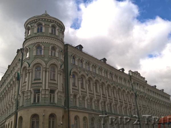 Доходный дом Троицкого подворья, Биржевая площадь, Китай-город, Москва