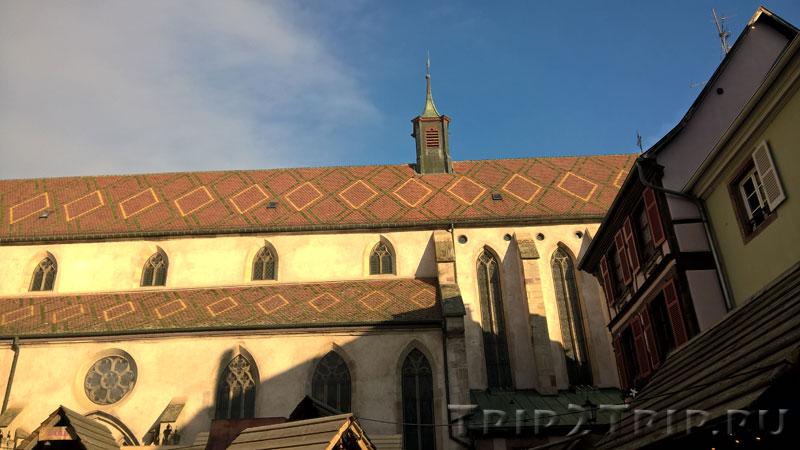 Августинская церковь Провидения, Рибовиле