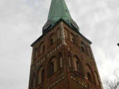 Башня собора Святого Екаба, Рига