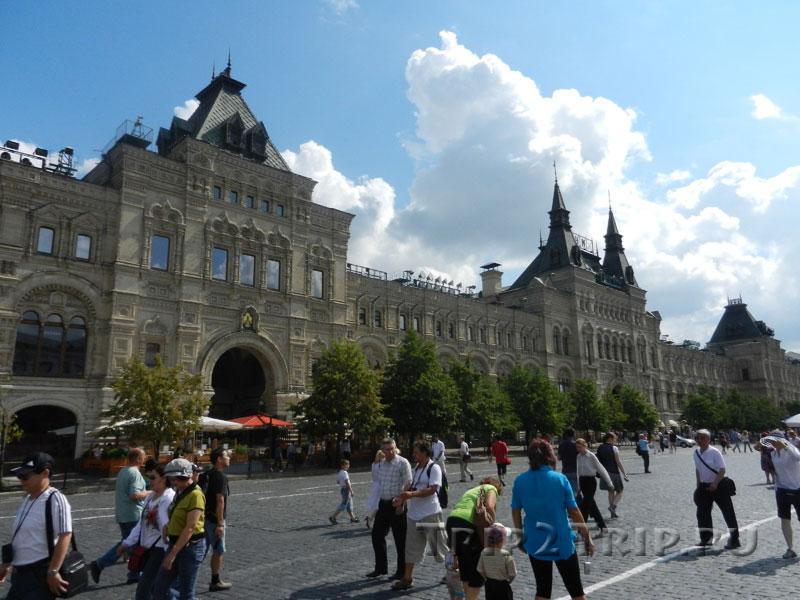 ГУМ, Красная площадь, Москва