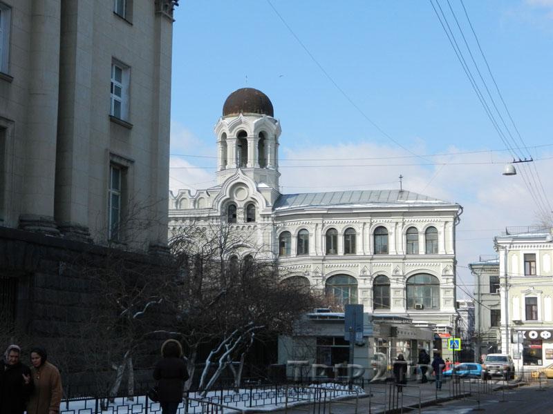 Корпус Николо-греческого мужского монастыря, Никольская улица, Москва