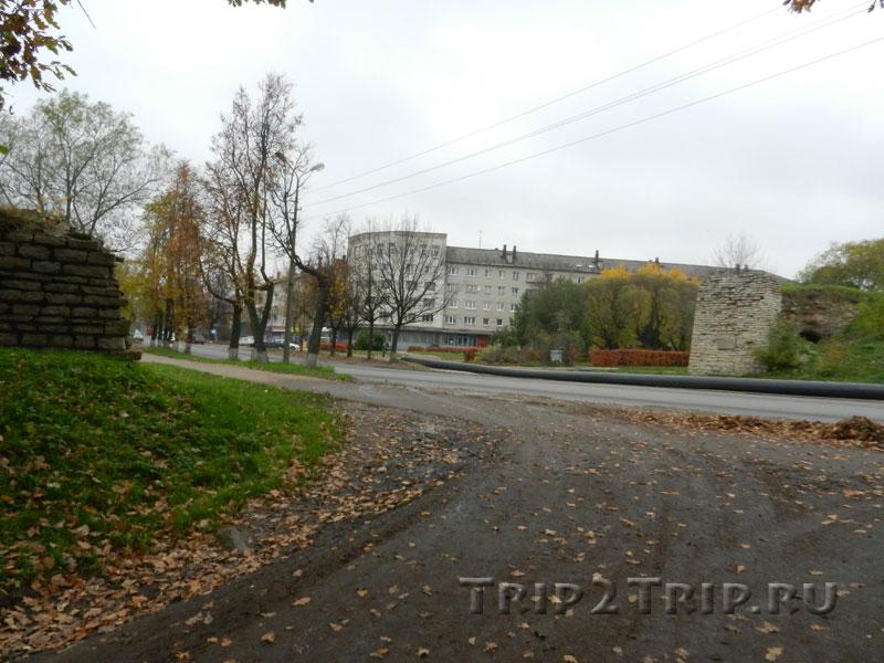 Варлаамский захаб с башней, Запсковье, Псков