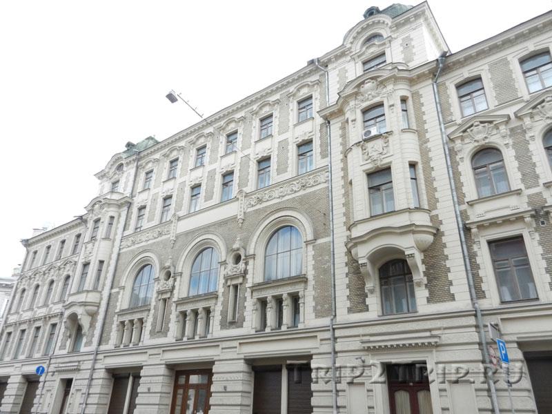 Доходный дом И.Г. Хрящёва - В.И. Варгина, Ильинка, Китай-город, Москва