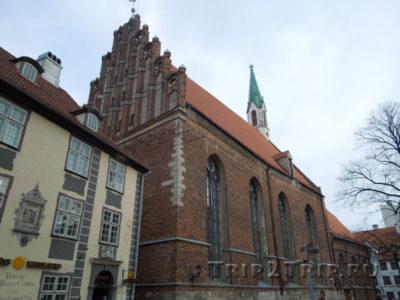 Церковь Святого Яня, Рига