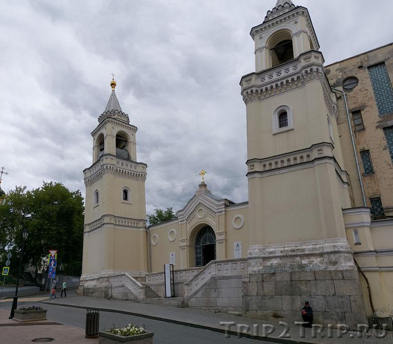 Иоанно-Предтеченский монастырь, улица Забелина, Ивановская горка, Москва