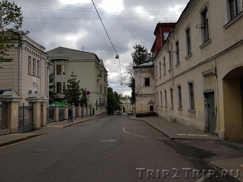 Колпачный переулок, Москва