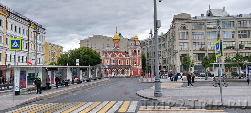 Храм Всех Святых, что на Кулишках, Славянская площадь, Москва
