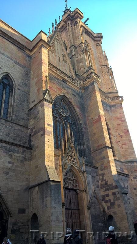Западный фасад собора Сен-Мартен, Кольмар