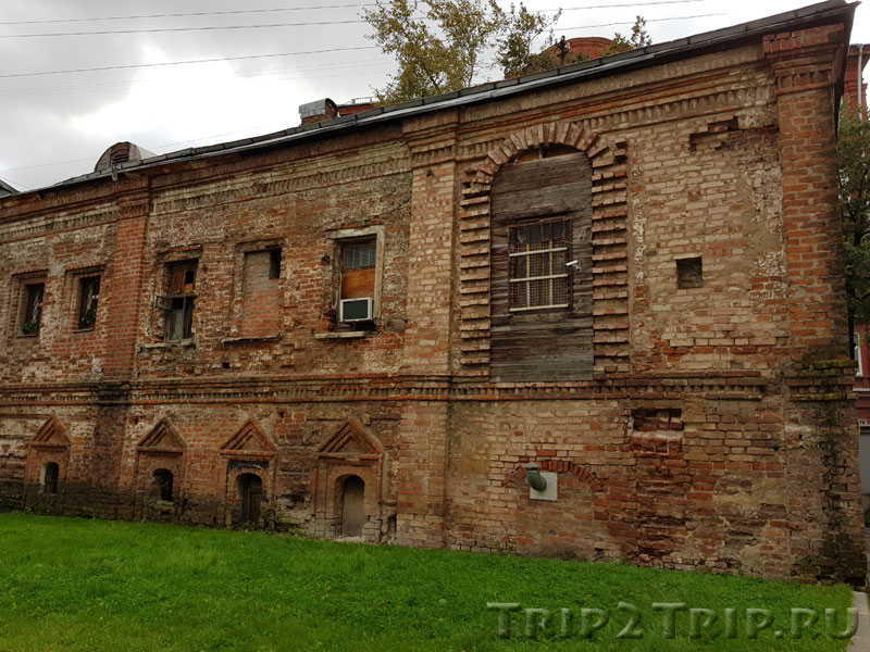 Так называемые Палаты Мазепы, Колпачный переулок, Москва