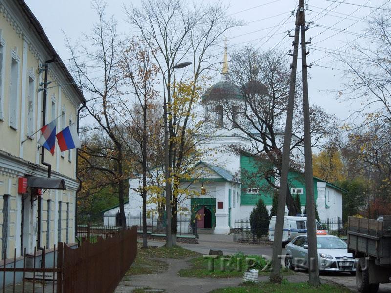 Церковь Ильи Пророка-Мокрого, Запсковье, Псков